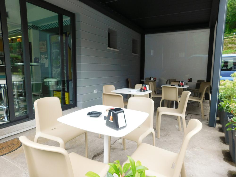 Mida Verbania Arredamento locali - Pit Stop - Bar Fiat - Cannobio